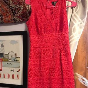 ASOS Lace Magenta homecoming/fancy dress